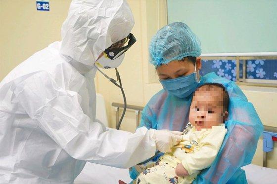 Bé 3 tháng tuổi nhiễm SARS-Cov-2 được điều trị khỏi.