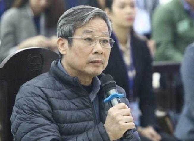 Ông Nguyễn Bắc Son tại phiên tòa sơ thẩm hồi tháng 12-2019.