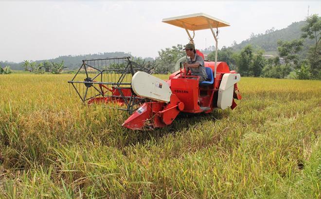 Cơ giới hóa trong làm đất và thu hoạch đã góp phần nâng cao giá trị gia tăng trong sản xuất nông nghiệp.