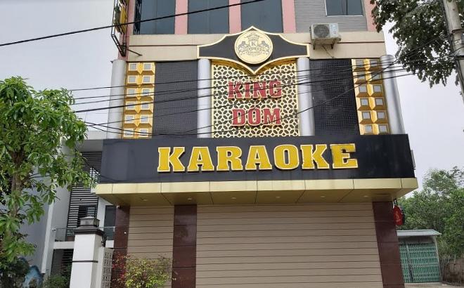 Quán Karaoke KingDom trên đường Nguyễn Tất Thành đã đóng cửa.