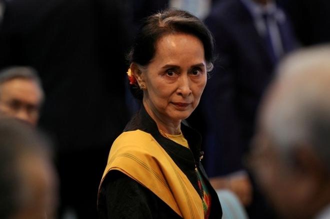 Bà Aung San Suu Kyi.
