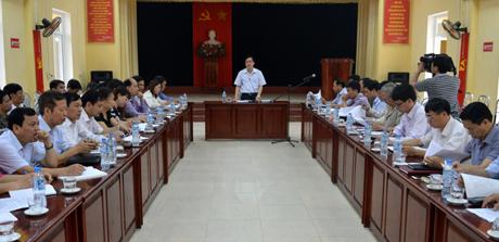Hội nghị đã thống nhất đề nghị UBND tỉnh công nhận xã Yên Hưng và xã Minh Bảo đạt chuẩn nông thôn mới trong năm 2016.
