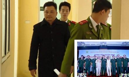 Bị can Lê Xuân Giang đã lợi dụng hình ảnh của một số sỹ quan quân đội nghỉ hưu để lừa đảo.