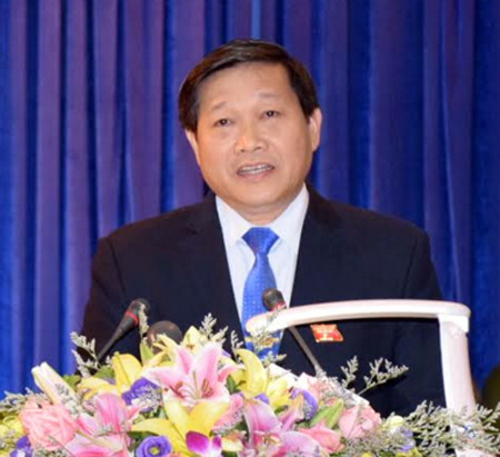 Ông Hoàng Văn Thuyên - Giám đốc Sở Nội vụ.
