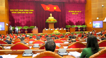 Hội nghị Trung ương 4, khóa XII bàn nhiều giải pháp ngăn chặn sự suy thoái về đạo đức, lối sống của cán bộ, đảng viên.