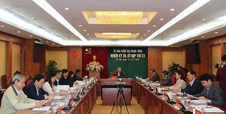 Nhiều quy định cụ thể liên quan đến việc xử lý kỷ luật đảng viên đã được Chủ nhiệm Ủy ban Kiểm tra Trung ương ký ban hành.