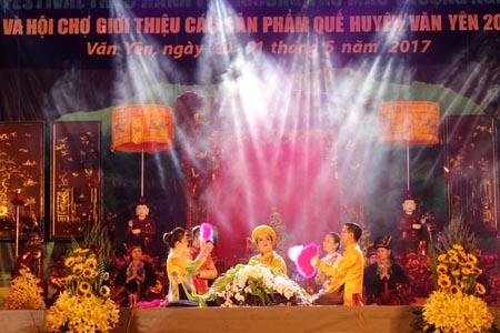 Festival Thực hành tín ngưỡng thờ Mẫu Thượng ngàn.