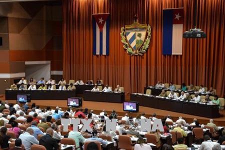 Toàn cảnh phiên họp của Quốc hội Cuba ngày 1-6-2017.