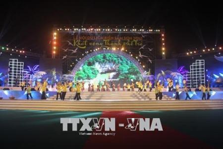 Chương trình nghệ thuật khai mạc Lễ hội du lịch biển Sầm Sơn năm 2018.