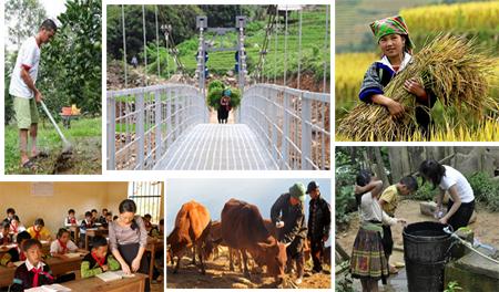 Nhiều chính sách, chương trình, dự án của Đảng và Nhà nước về công tác dân tộc đã góp phần giúp đồng bào dân thộc thiểu số vùng cao tỉnh Yên Bái ổn định cuộc sống và thúc đẩy kinh tế- xã hội.