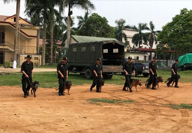 Lực lượng CSCĐ thường xuyên luyện tập sẵn sàng chiến đấu.