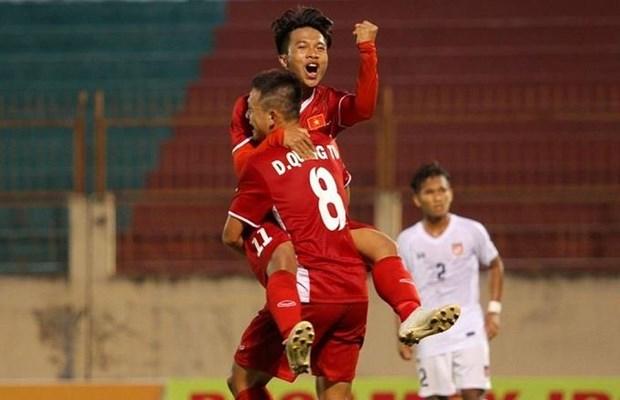 Cầu thủ U19 Việt Nam.