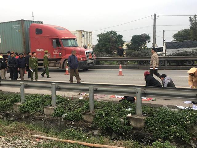 Vụ tai nạn giao thông nghiêm trọng ở Hải Dương.