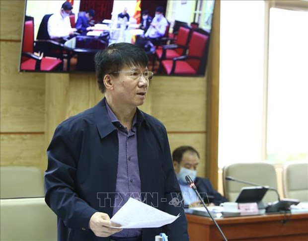 Deputy Minister of Health Truong Quoc Cuong.