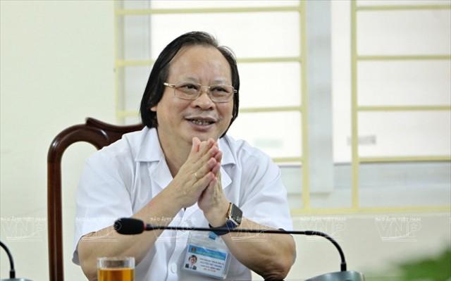 PGS.TS Nguyễn Viết Nhung, Giám đốc Bệnh viện Phổi Trung ương