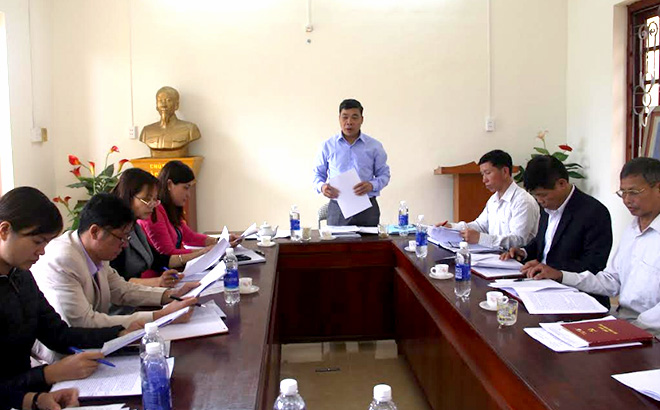 Đảng ủy xã Đồng Khê bàn giải pháp phát triển kinh tế - xã hội cho nhiệm kỳ mới.