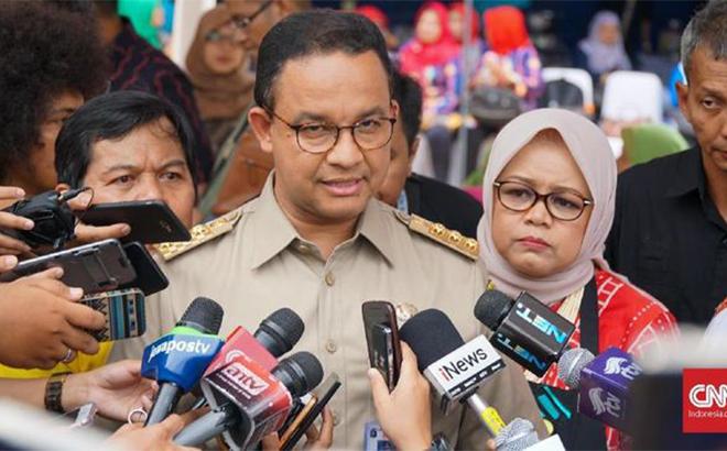Thống đốc Jakarta, Anies Baswedan sẽ mạnh tay trong việc ngăn chặn sự lây lan của dịch Covid-19.