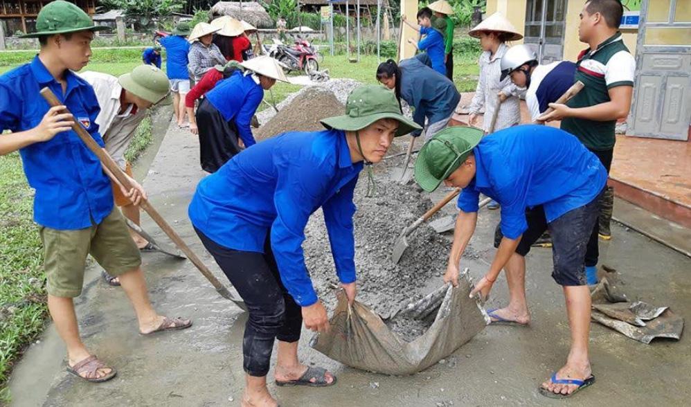 Qua công tác dân vận, Tuổi trẻ Lục Yên luôn xung kích, đồng hành cùng nhân dân trong mọi mặt của đời sống xã hội đặc biệt là xây dựng cơ sở hạ tầng.