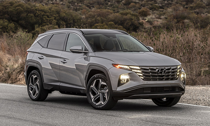 Tucson, mẫu xe bán nhiều Hyundai ở Mỹ tháng 3.