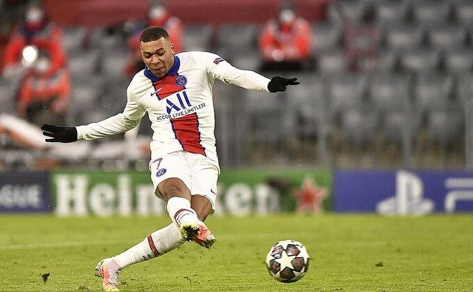 Mbappe ghi bảy bàn sau tám trận tại Champions League mùa này