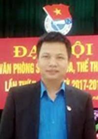 Anh Nguyễn Mạnh Cường - Bí thư Chi đoàn Văn phòng Sở VHTT&DL.