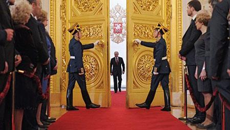 Hôm nay (7/5), Tổng thống Nga Putin tuyên thệ nhậm chức.