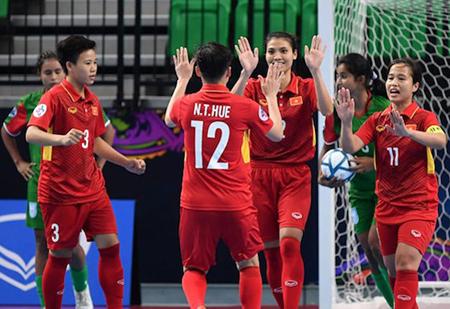 Đội Việt Nam vượt chỉ tiêu để vào đến Bán kết.