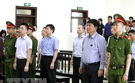 Các bị cáo trong vụ án xảy ra tại PVN và PVC liên quan dự án nhà máy Nhiệt điện Thái Bình 2.