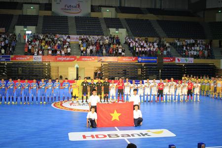 Lễ khai mạc diễn tại Cung thể thao Tiên Sơn, Đà Nẵng.
