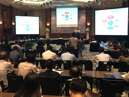 """JICA và 6 tỉnh tham gia dự án tại hội nghị """"Phát triển nông thôn hiệu quả thông qua cách tiếp cận dựa vào kết quả"""" tổ chức tại Hà Nội ngày 16/5."""