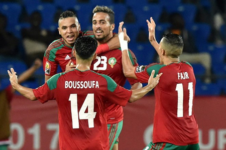 Maroc đã sớm chốt danh sách.
