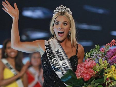 Người đẹp Sarah Rose Summers đến từ bang Nebraska đăng quang Hoa hậu Mỹ 2018.