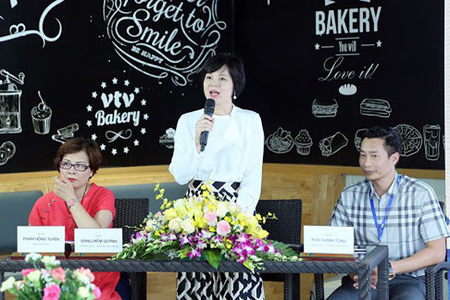 Bà Đặng Diễm Quỳnh, Trưởng ban tổ chức Liên hoan thiếu nhi quốc tế VTV 2018