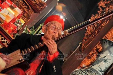 Nghệ nhân ưu tú Nguyễn Phú Đẹ trong lĩnh vực ca trù được đề nghị xét tặng danh hiệu nghệ nhân nhân dân.