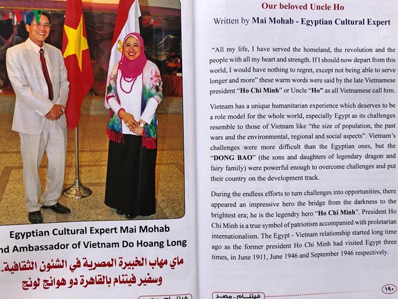 Một bài viết của chuyên gia. văn hóa Ai Cập về Chủ tịch Hồ Chí Minh