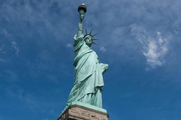 Tượng Nữ thần Tự do.