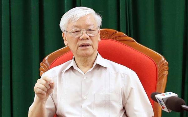 Ngày 14/5/2019, tại Hà Nội, Tổng Bí thư, Chủ tịch nước Nguyễn Phú Trọng chủ trì họp lãnh đạo chủ chốt của Đảng và Nhà nước.
