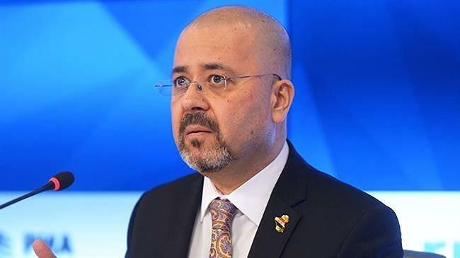 Đại sứ Iraq tại Nga Haidar Mansour Hadi.