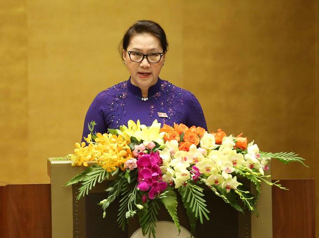 Chủ tịch Quốc hội Nguyễn Thị Kim Ngân phát biểu khai mạc kỳ họp thứ 7, Quốc hội khóa XIV.