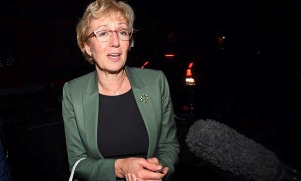 Lãnh đạo Hạ viện Anh Andrea Leadsom.