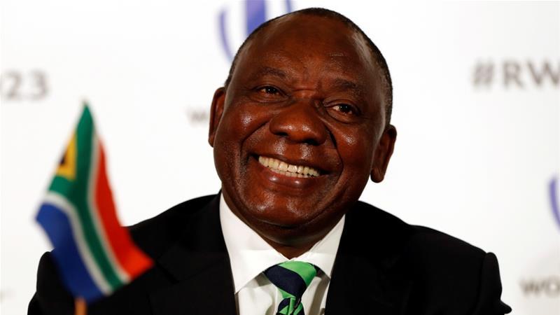 Ông Cyril Ramaphosa tái đắc cử Tổng thống Nam Phi.