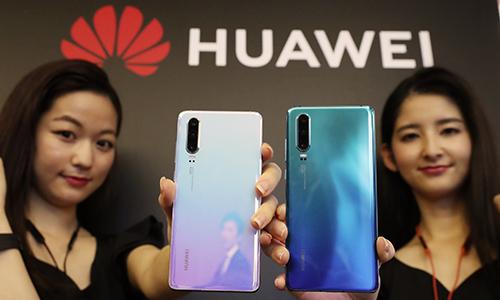Huawei ra mắt điện thoại P30 Lite ở Nhật Bản hôm 21/5.