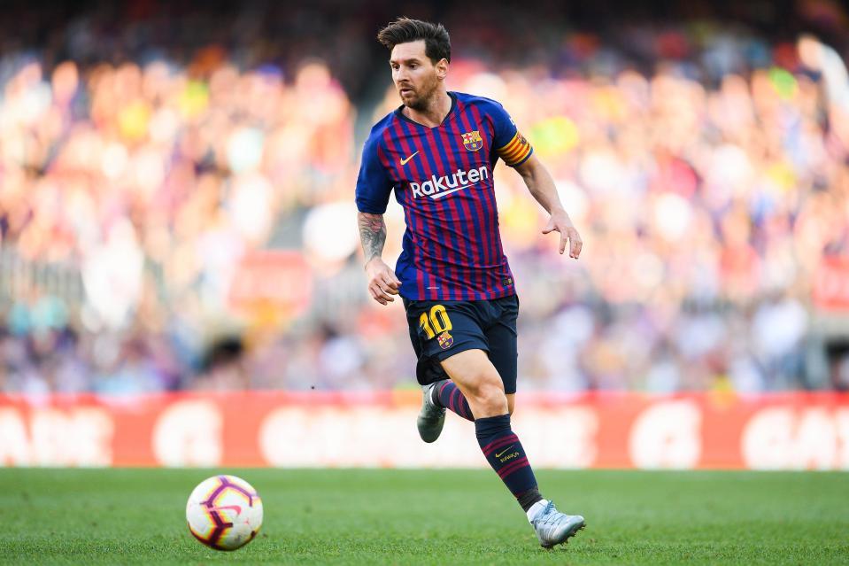 Messi tiếp tục chứng tỏ khả năng săn bàn dù đã 31 tuổi.