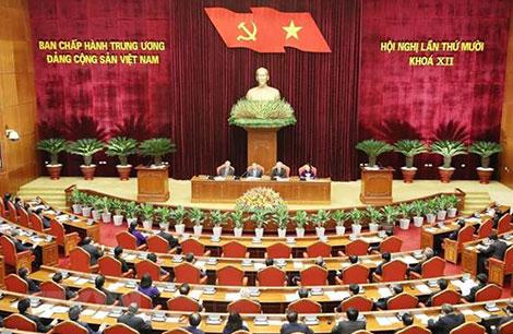 Tại Hội nghị Trung ương 10, Tổng Bí thư, Chủ tịch nước Nguyễn Phú Trọng chỉ đạo ban soạn thảo Văn kiện Đại hội XIII của Đảng phải đưa ra các dự báo, tầm nhìn dài hạn.