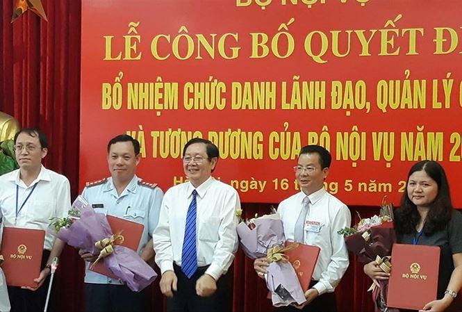 Bộ Nội vụ có số lãnh đạo bổ nhiệm qua thi tuyển đông nhất