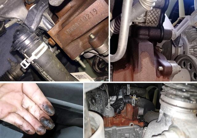 Dòng động cơ diesel 2.0L của Ford đang bị phản ánh có hiện tượng thấm/chảy dầu tại nắp che đai cam.