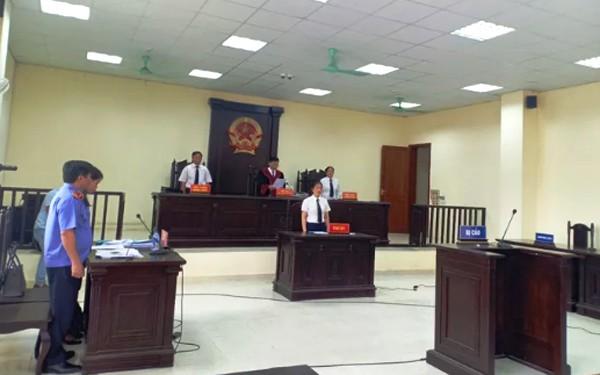 HĐXX TAND tỉnh Thanh Hóa tuyên án vắng mặt bị cáo cựu trưởng Công an TP Thanh Hóa