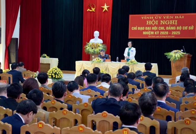 Ngay sau thành công của đại hội điểm Đảng bộ xã Việt Thành, Tỉnh ủy đã tổ chức Hội nghị chỉ đạo đại hội chi, đảng bộ cơ sở, nhiệm kỳ 2020 - 2025.