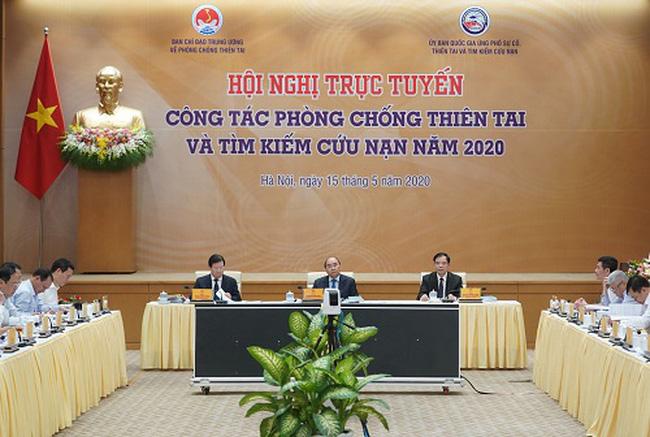 Thủ tướng Nguyễn Xuân Phúc chủ trì Hội nghị toàn quốc về công tác phòng, chống thiên tai và tìm kiếm cứu nạn năm 2020.