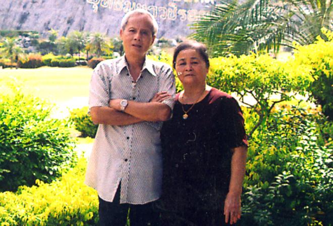 Ông Nguyễn Khắc Hải trong một lần về thăm quê.